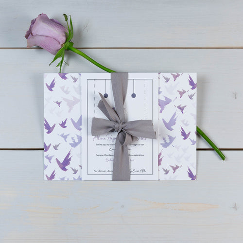 Fallen For You Wedding Invitation Suite