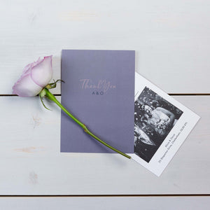 Thank You Cards, Wedding Stationery, Fallen For You, Skyline, PaperLove inc.