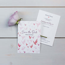 Save The Date, Wedding Stationery, Fallen For You, Woodland, Flutter, PaperLove inc.