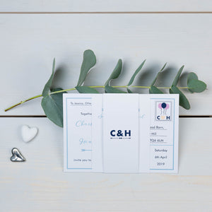 Love Note Wedding Invitation Suite