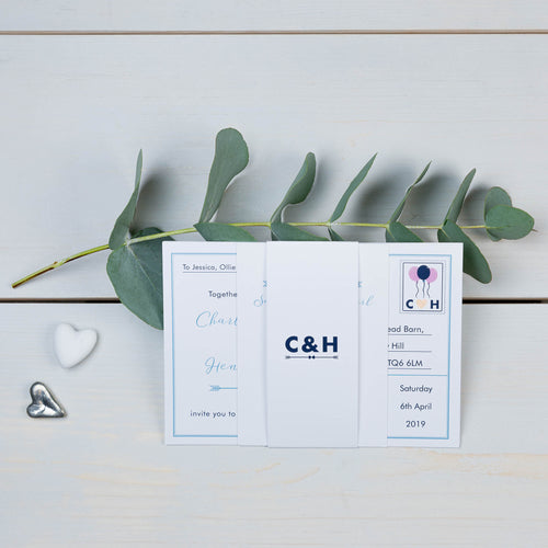 Love Note Wedding Invitation Suite Samples