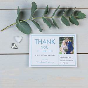 Thank You Cards, Wedding Stationery, Postcard, Love Note, Coastal, PaperLove inc.