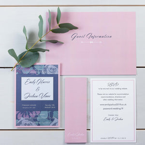 Luxury Wedding Invitations, Wedding Stationery, Rose Garden, Woodland, PaperLove inc.
