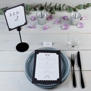 Showcase Collection of Table Numbers