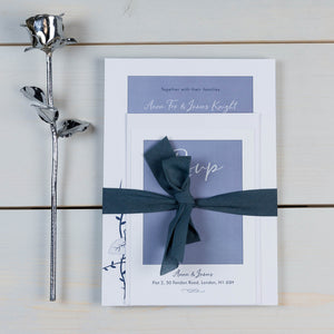 Valentine Rose Wedding Invitation Suite