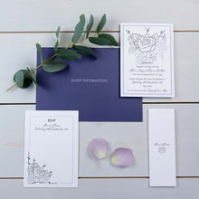 Luxury Wedding Invitations, Wedding Stationery, You Complete Me, Botanical, PaperLove inc.