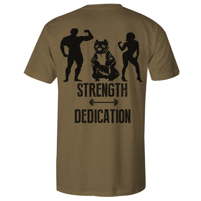 STRENGTH DEDICATION MEN'S TEE