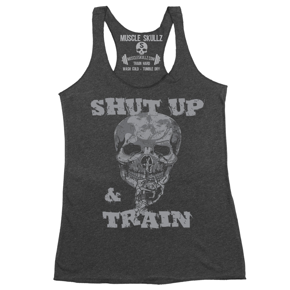 SHUT UP & TRAIN - Women's Raw Tank Top