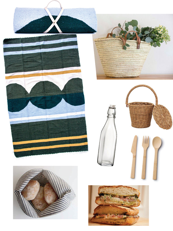 A Spring Picnic Basket Idea