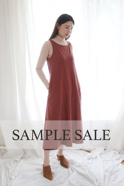 SAMPLE SALE | Fortuna Column Dress - Red Currant