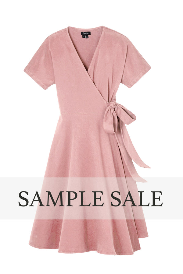 SAMPLE SALE | Kindred Wrap Dress - Dusty Rose
