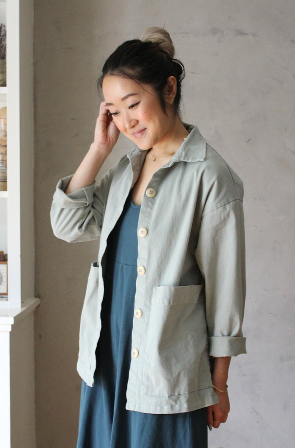Painters Button Jacket - Chateau