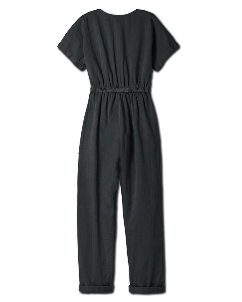 Women's Kindness Jumpsuit in Black Forest
