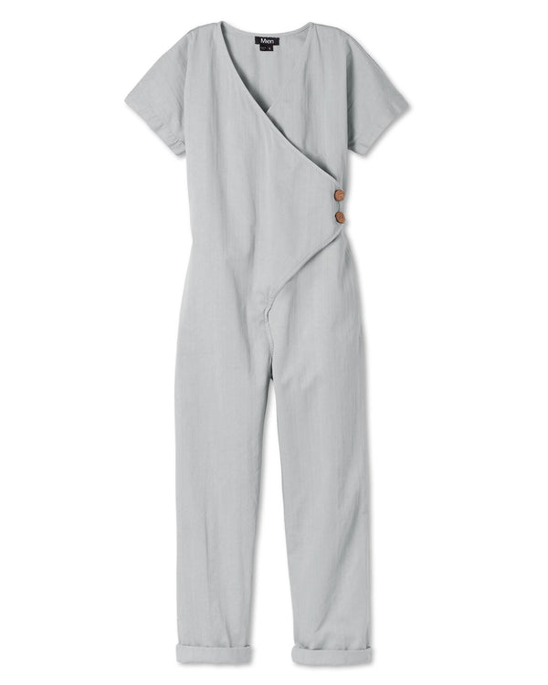 Kindness Jumpsuit - Stone Grey