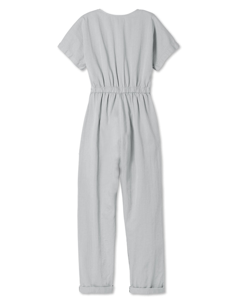 Women's Kindness Jumpsuit in Stone Grey