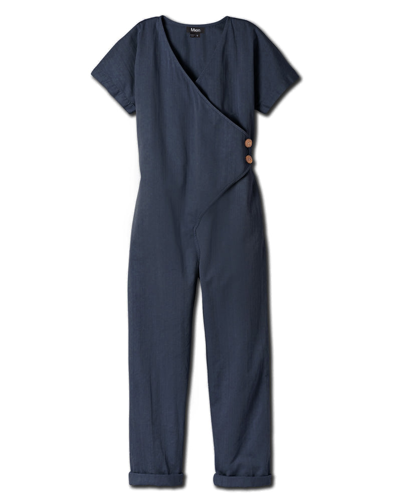 Women's Kindness Jumpsuit in Vintage Navy