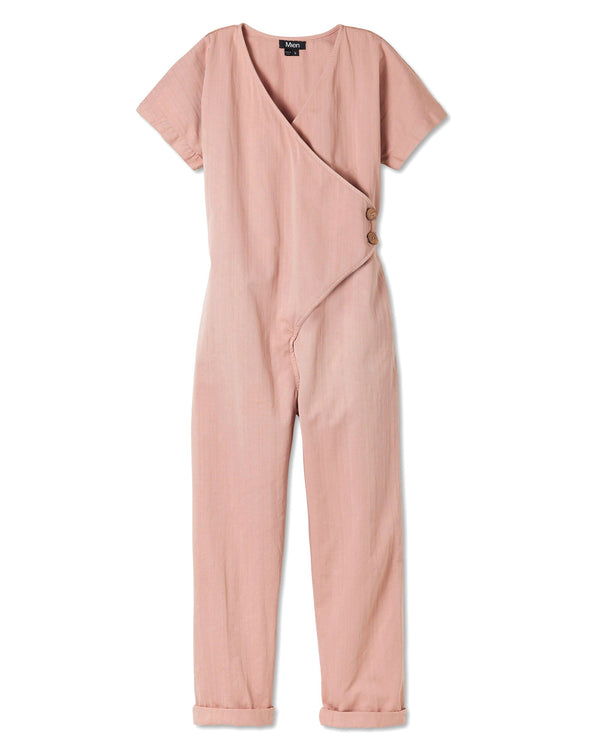 Women's Kindness Jumpsuit in Dusty Rose