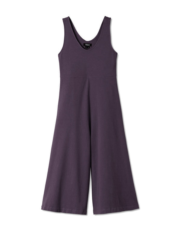 PREORDER // Lakeside Wide Leg Jumpsuit - Dark Plum