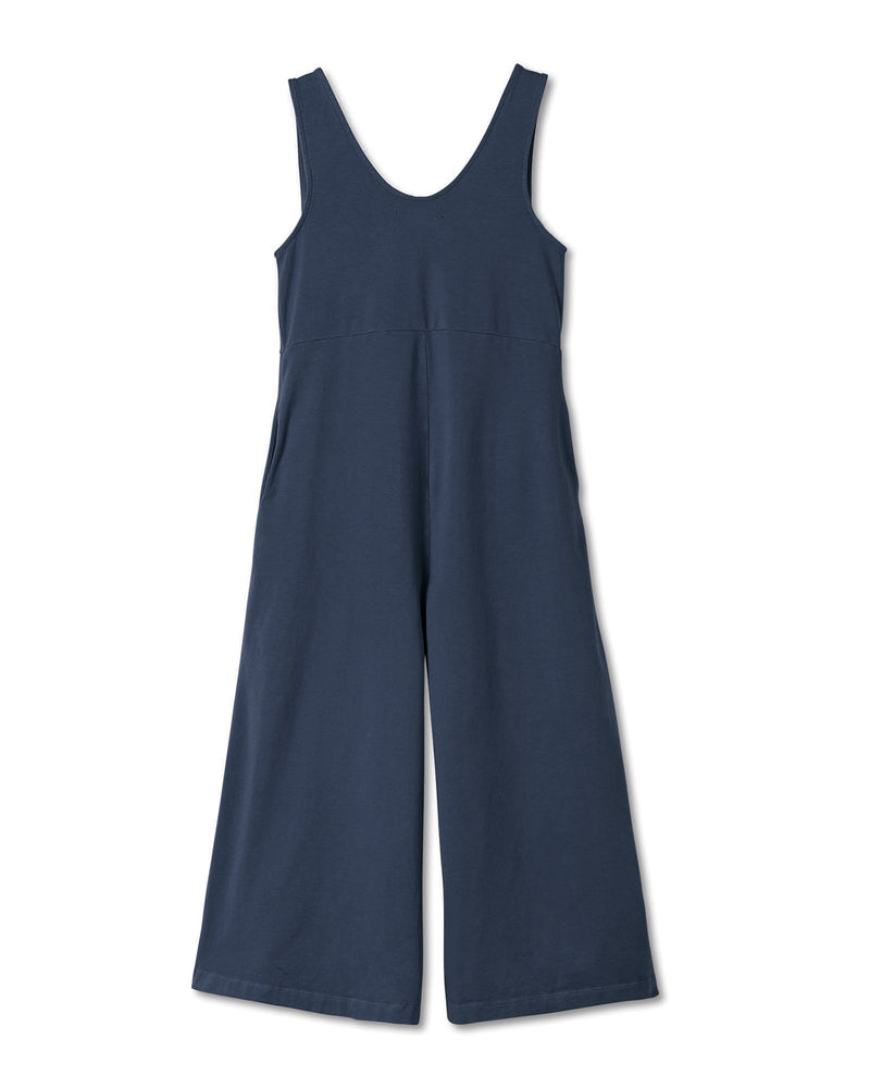 Lakeside Wide Leg Jumpsuit - Vintage Navy