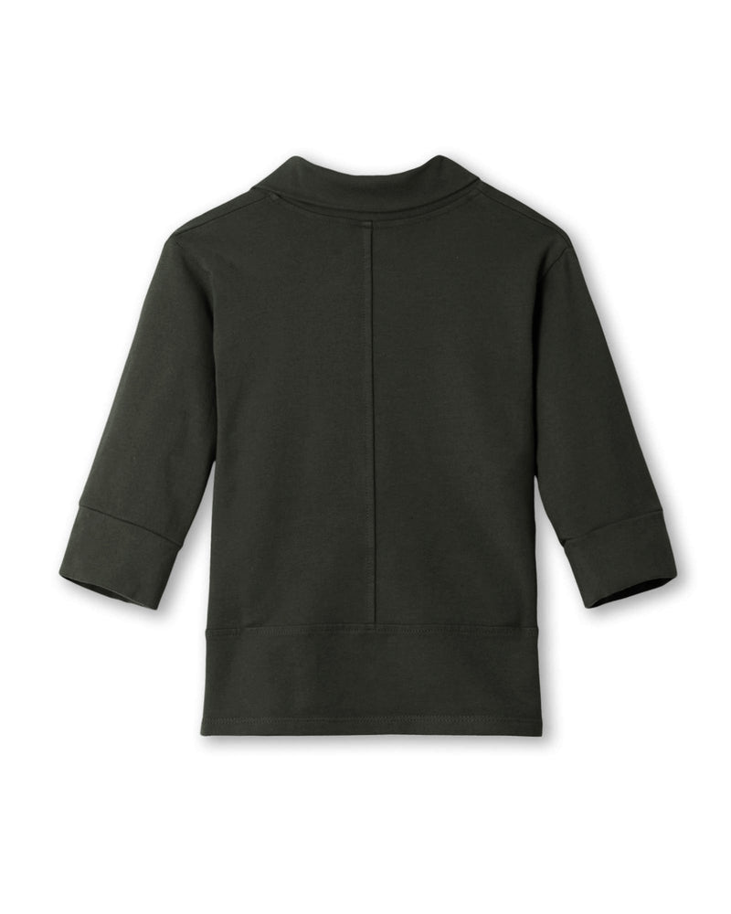 Toddler Girl's Mini Haven Jacket in Black Forest