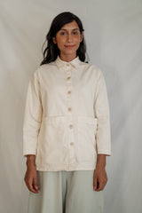 Painters Button Jacket - Champagne