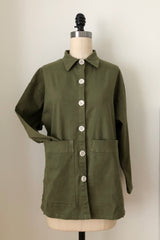 Painters Button Jacket - Cedar Green