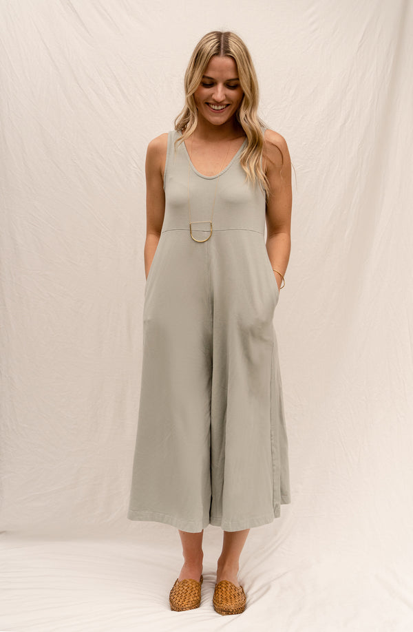 Lakeside Wide Leg Jumpsuit - Chateau