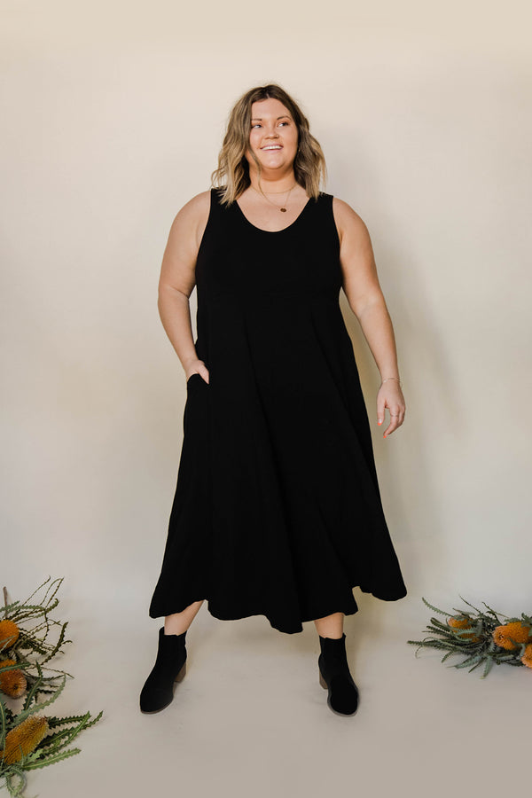 Lakeside Wide Leg Jumpsuit - True Black