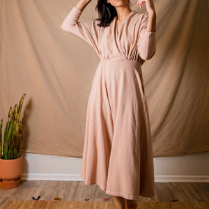 Sedona Dolman Sleeve Jumpsuit - Tea Rose
