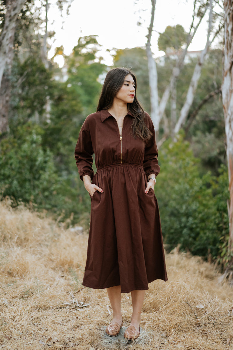 Maison Midi Dress - Hickory