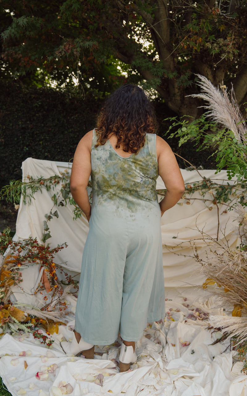 Mien x Milk Dyes | Lakeside Wide Leg Jumpsuit - Hand Dye Chateau