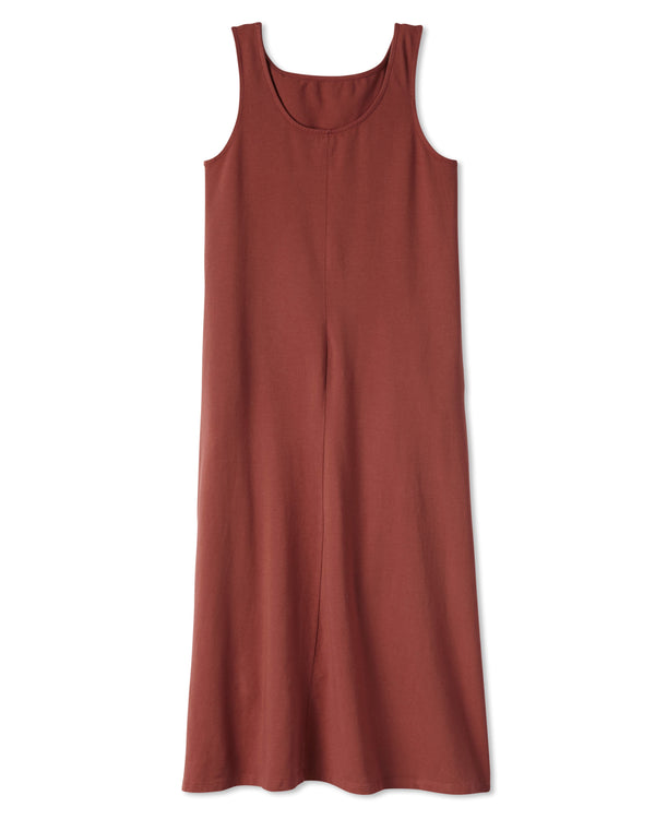 Fortuna Column Dress - Red Currant