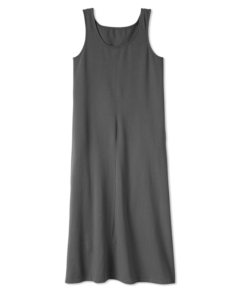 Fortuna Column Dress - Zinc Grey