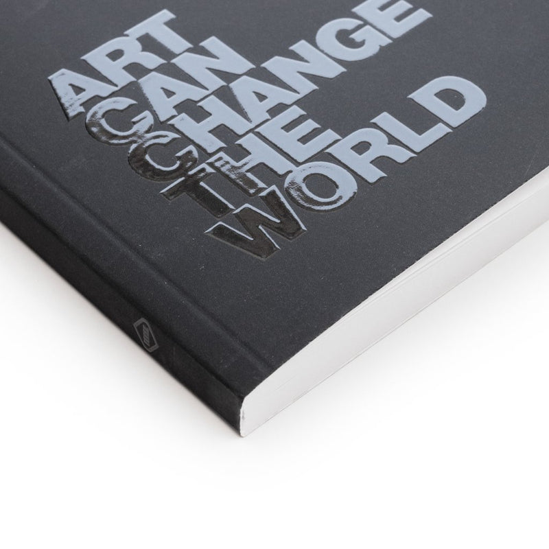 ART CAN CHANGE THE WORLD BLANK LAYFLAT JOURNAL