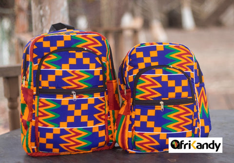 AFRICAN PRINT BACKPACKS