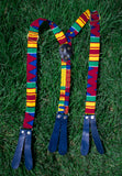 African Print Suspender and Bow tie Set  01 - AfriKandy