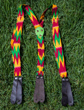African Print Suspender and Bow tie Set  02 - AfriKandy