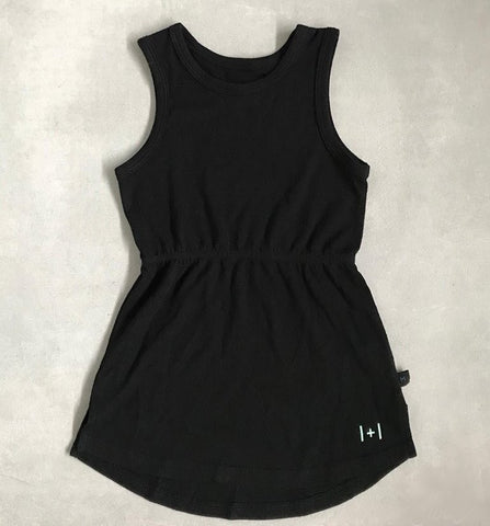 bam l+l boo Emme Kids Dress- black