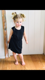 Girls Emme kids dress - black