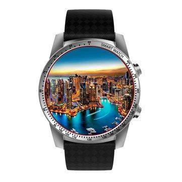 KINGWEAR KW99 1.39-inch 400mAh Android 5.1 3G Wifi Smart Watch-Smart Watch Phone-silver-hykis.com