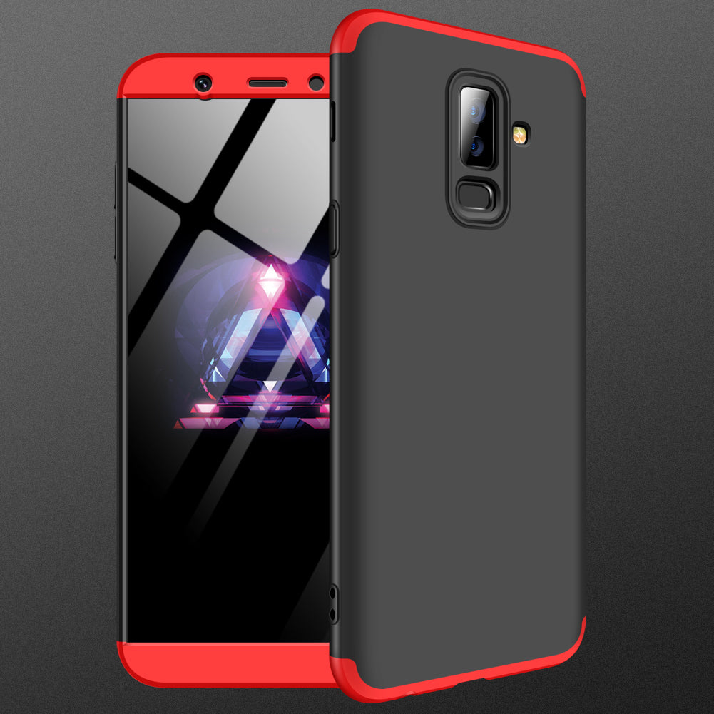 3 in 1 Double Dip 360° Full Body Protective Case for Samsung Galaxy A6 Plus 2018