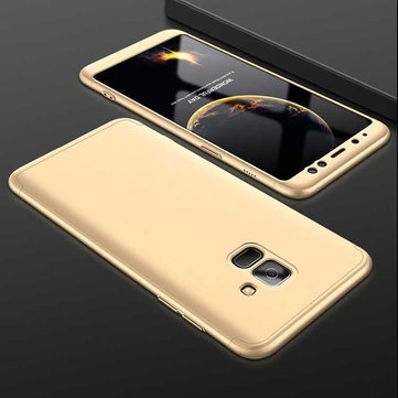 3 in 1 Double Dip 360° Full Body Protective Case for Samsung Galaxy A8A8Plus