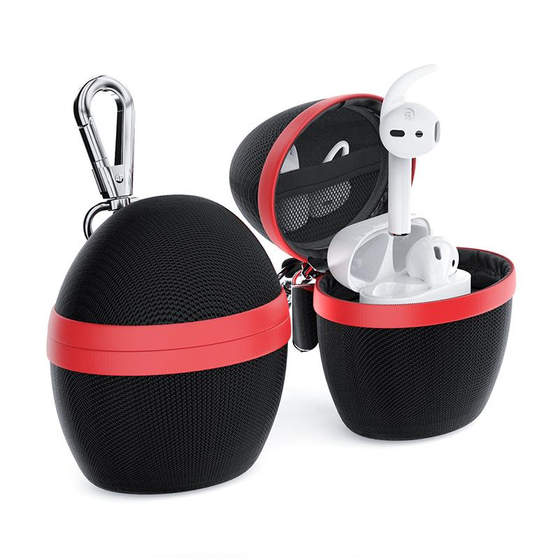 Waterproof Shockproof Protable Hook Airpods Protection Bag