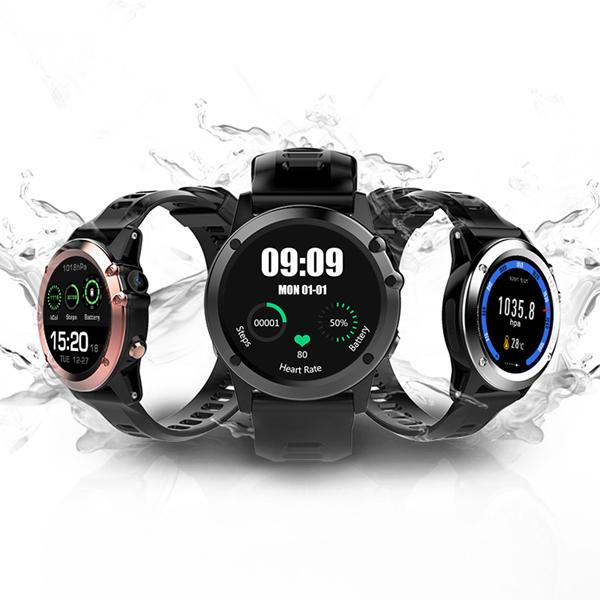Microwear H1 1.39inch Super AMOLED 4GB GPS 3G WIFI Camera IP68 Heart Rate Monitor Smart Watch-Smart Watch Phone-hykis.com