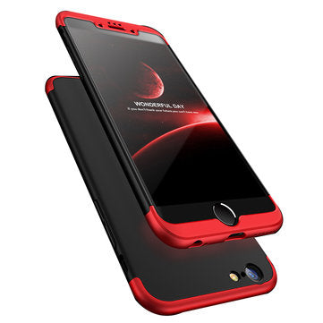 3 in 1 Double Dip 360° Full Protection PC Case for iPhone  IPhone 6/6s IPhone 6/6s Plus/ IPhone 5S&IPhone 5Se