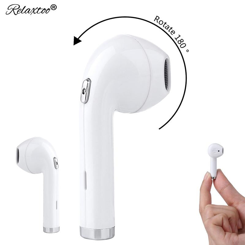 Rotate 180 degree tws i8 mini In-Ear Bluetooth earphone with Microphone wireless headphones headset For Samsung xiaomi xiomi