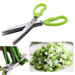 Multilayers Shredding Scissor 5 Layers Kitchen Scissors
