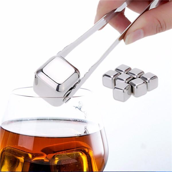 Stainless Steel Whisky Ice Cubes/Bar KTV Supplies