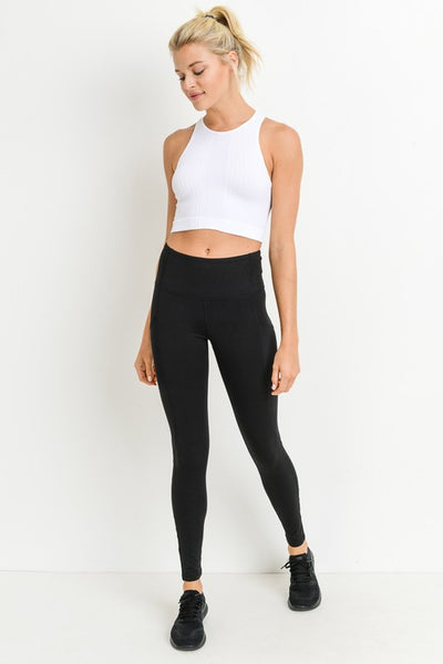 MIGHTY FINE CROPPED SPORTS TANK