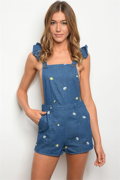 LITTLE MISS DAISY OVERALLS